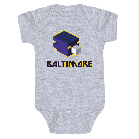 Baltimore Blocks Baby Onesy