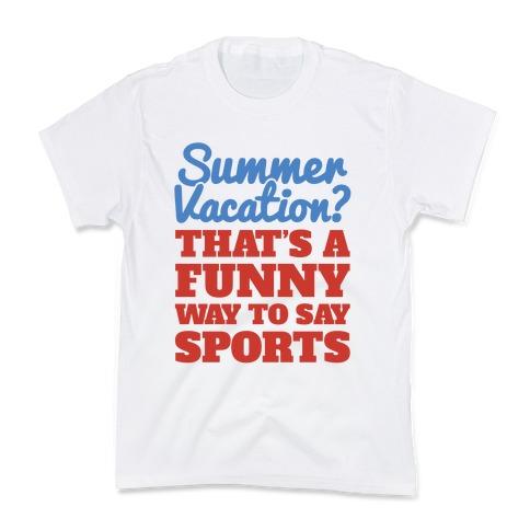 Summer Sports Kids T-Shirt