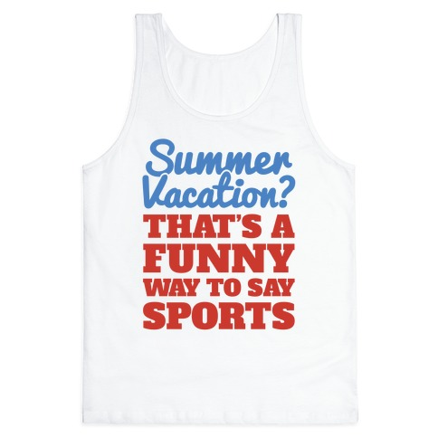 Summer Sports Tank Top