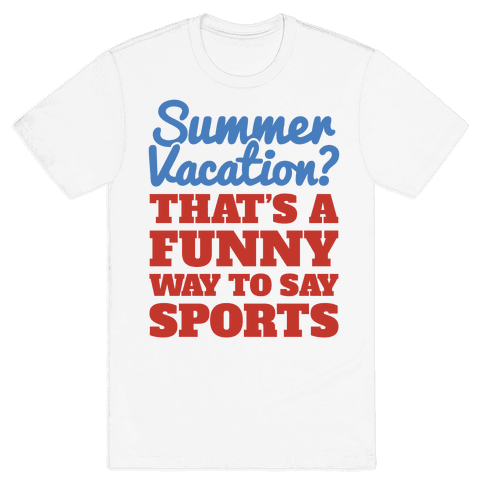 Summer Sports Mens T-Shirt