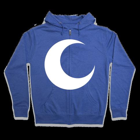 Moon Knight Logo Zip Hoodie
