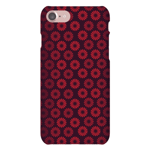 Vintage Flower Pattern Phone Case
