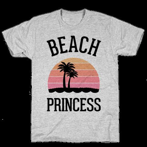 Beach Princess  Mens T-Shirt