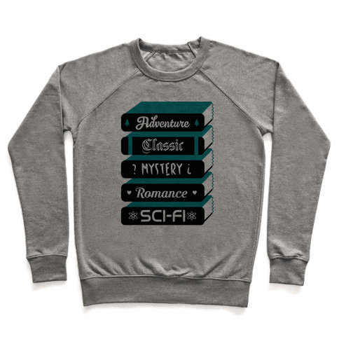 Book Stack Pullover
