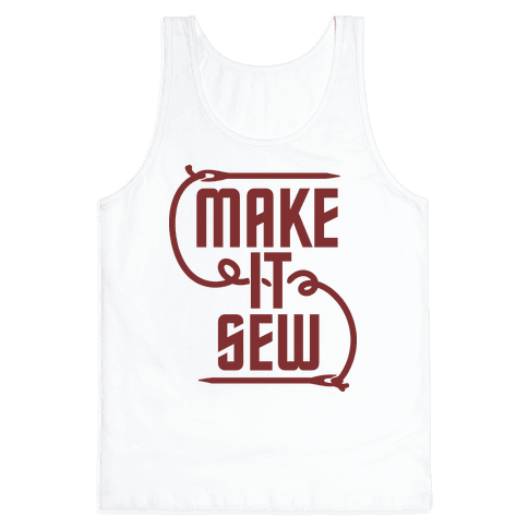 Make It Sew Tank Top