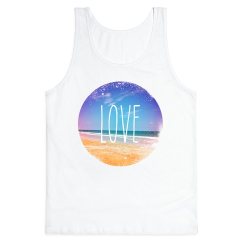 Love (The Beach) Tank Top