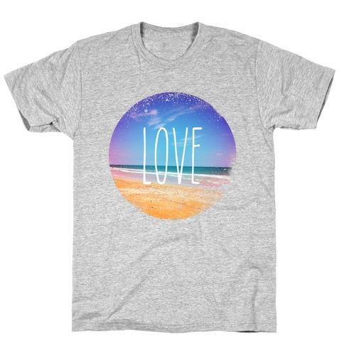 Love (The Beach) T-Shirt