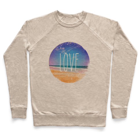 Love (The Beach) Pullover