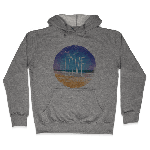 Love (The Beach) Hooded Sweatshirt