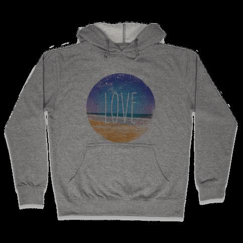 Love (The Beach) Hooded Sweatshirt