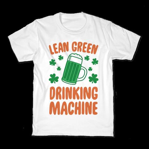 Lean Green Drinking Machine Kids T-Shirt