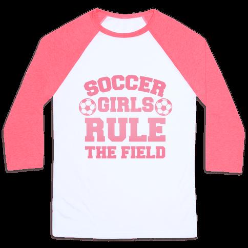 Soccer Girls Rule The Field