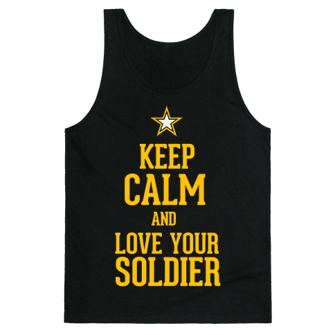 Love Your Soldier Tank Top