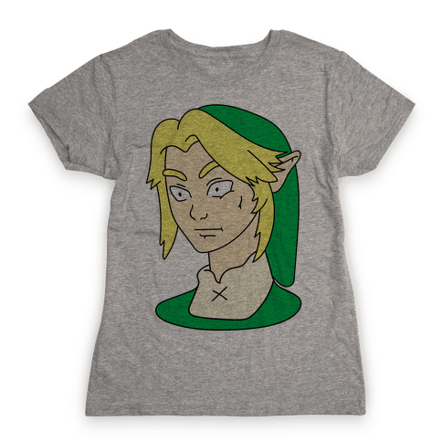 Link Face Parody Womens T-Shirt