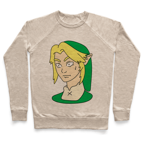 Link Face Parody Pullover