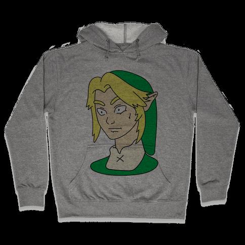Link Face Parody Hooded Sweatshirt