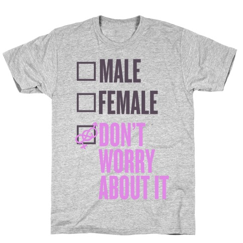 I am Genderfluid Check List T-Shirt
