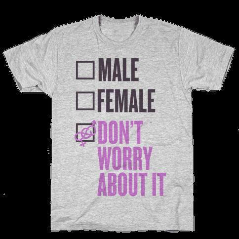 I am Genderfluid Check List Mens T-Shirt