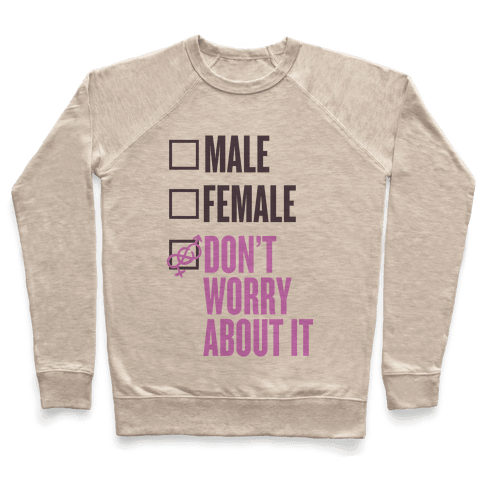 I am Genderfluid Check List Pullover
