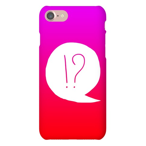 Exclamation! Phone Case