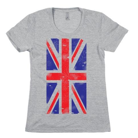 Union Jack Womens T-Shirt