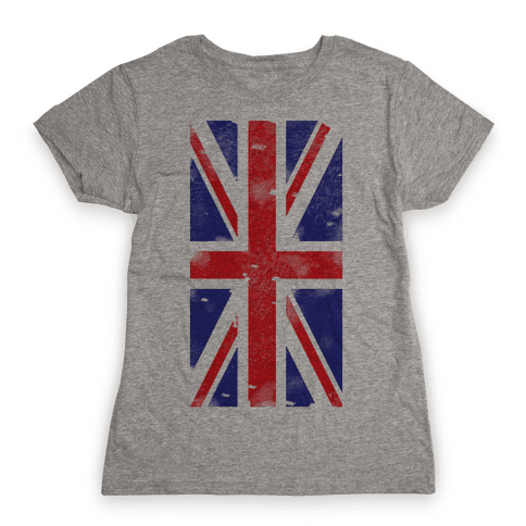 Union Jack Womens T-Shirt