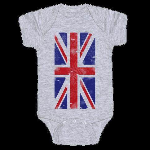 Union Jack Baby Onesy