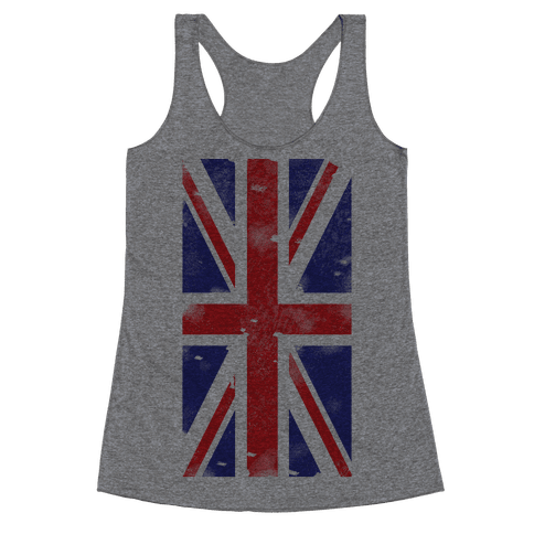Union Jack Racerback Tank Top