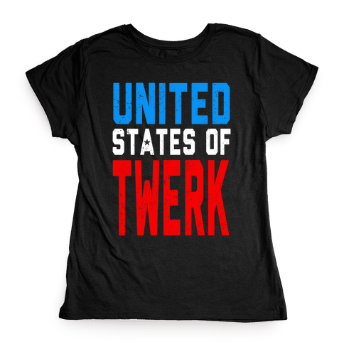 United States of TWERK (Tank) Womens T-Shirt