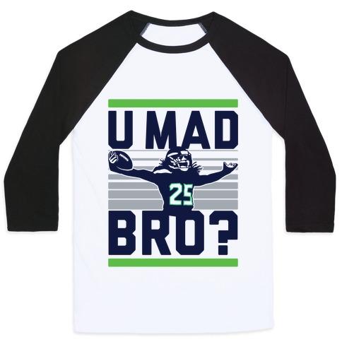 U Mad Bro? Baseball Tee