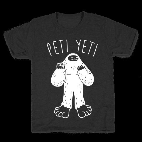Peti Yeti Kids T-Shirt