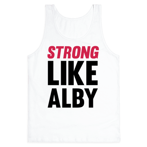 Strong Like Alby Tank Top