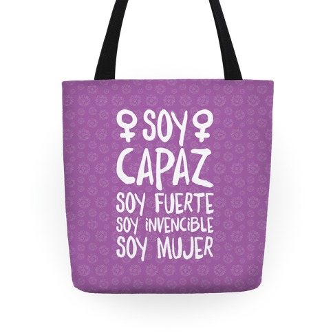 Soy Capaz Tote