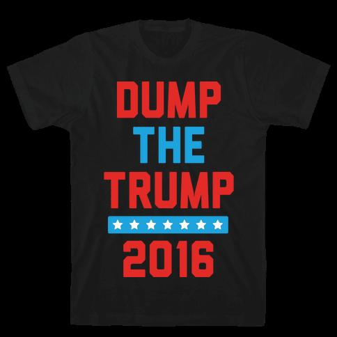 Dump The Trump 2016 Mens T-Shirt