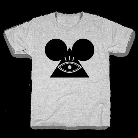 Illuminati Mouse Kids T-Shirt