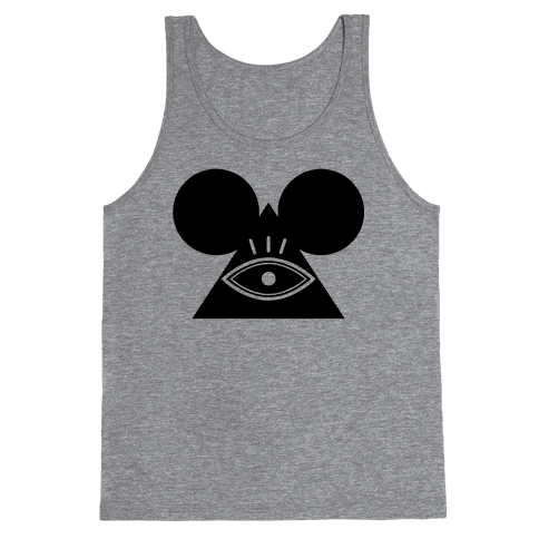 Illuminati Mouse Tank Top