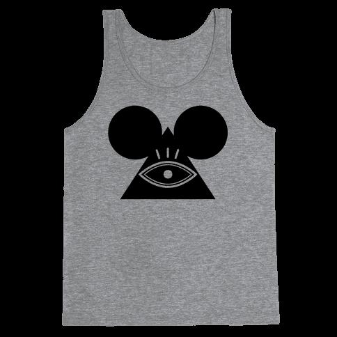 Illuminati Mouse Tank Top