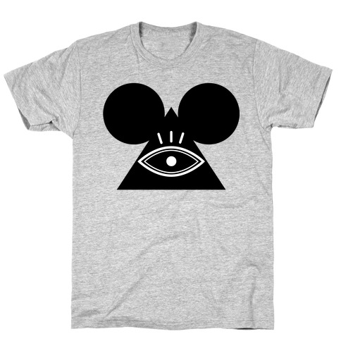 Illuminati Mouse T-Shirt