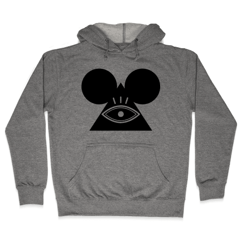 Illuminati Mouse Hooded Sweatshirt