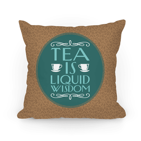 Liquid Wisdom Pillow