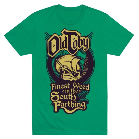 Old Toby Mens T-Shirt