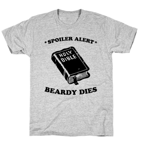 Bible Spoiler Mens T-Shirt