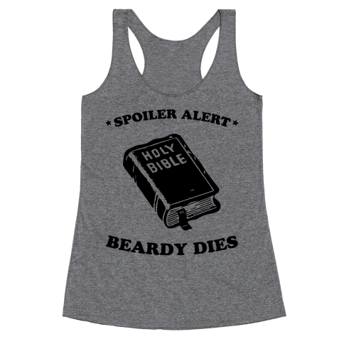 Bible Spoiler Racerback Tank Top