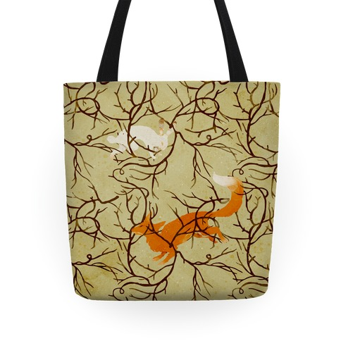 Rabbit And The Fox Chase Tote