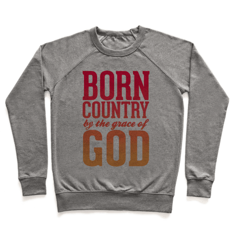 Born Country Pullover