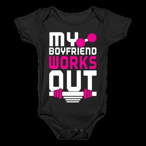 Swole Boyfriend Baby Onesy