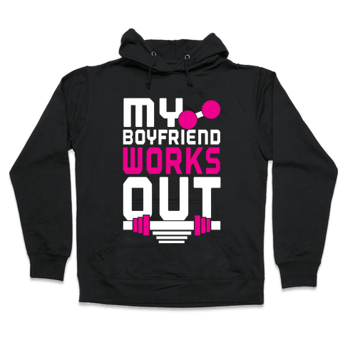Swole Boyfriend Hooded Sweatshirt