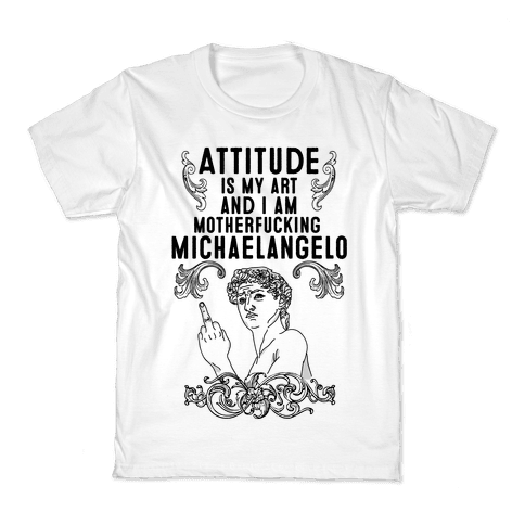 Art Attitude Kids T-Shirt
