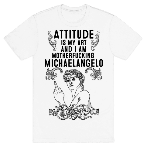 Art Attitude Mens T-Shirt