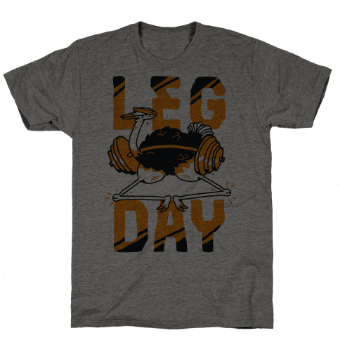 Leg Day Ostrich